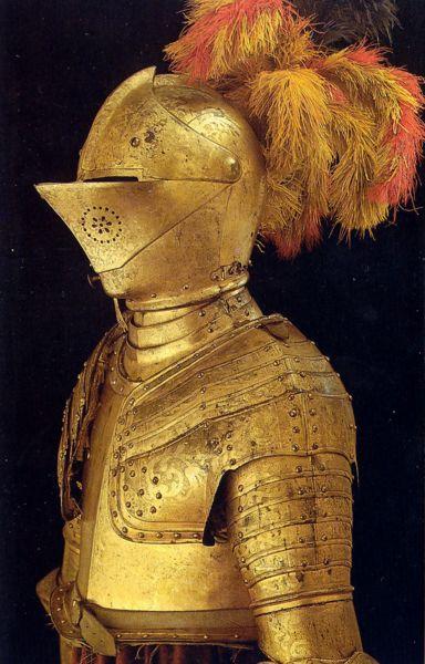шлемы средний веков
