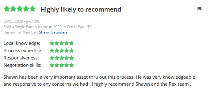 rex real estate review highly recommend