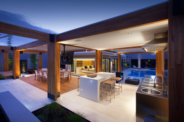 Estrutura de Madeira - Casa Contemporânea - Canadá