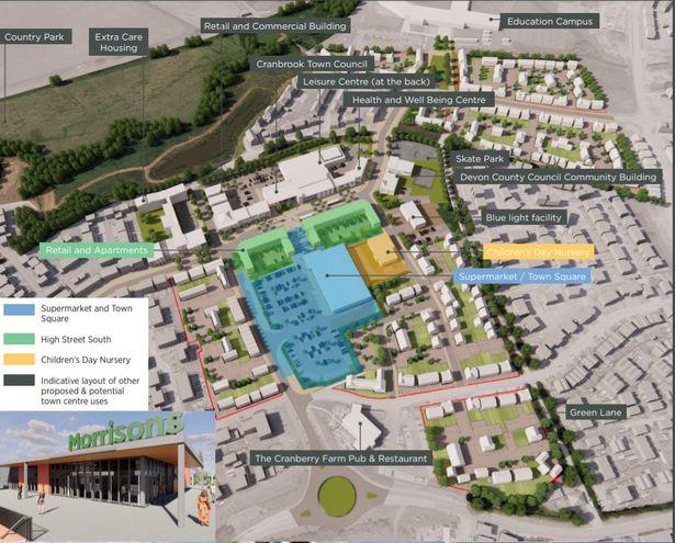 The Cranbrook town centre masterplan