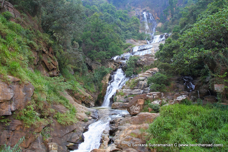 The mighty Rawana Ella Falls that hold an important place in Hindu Mythology