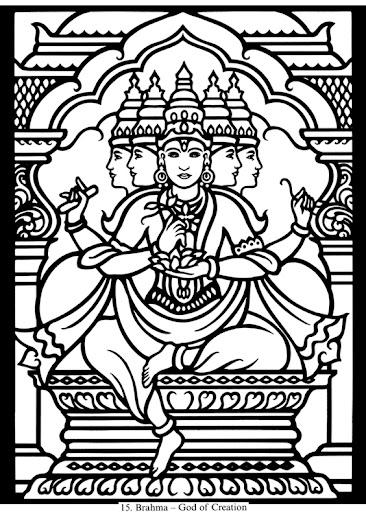 Line Art Hindu Gods : Gt Рисунки для выжигания Обсуждение на liveinternet