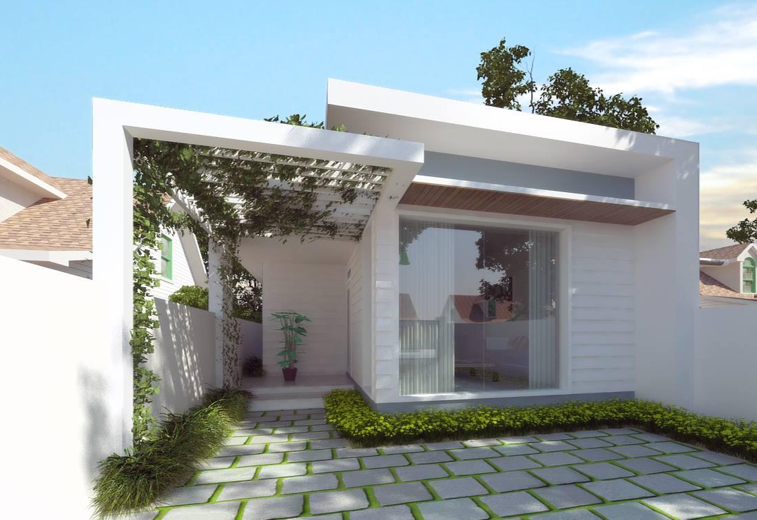 Nhà 1 tầng cũng có thể rất đẹp và cần công ty xây dựng tốt
