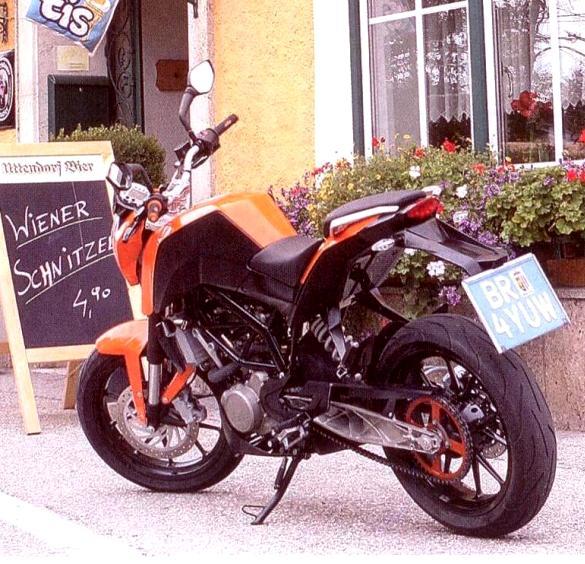 KTM 125/200 Duke