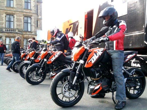 KTM 125 Duke launched in Europe