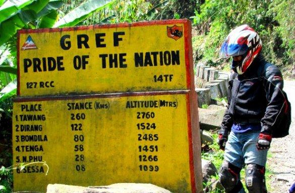 2011 Tawang Bike/Motorcycle Trip
