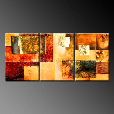 Multi Panel Oil Painting