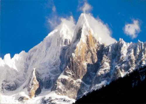 Вершина Пти Дрю, высота 3733 м