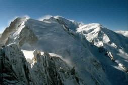 Вершина Монблан, высота 4810 м