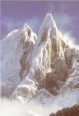 Вершина Ле Дрю, высота 3754 м