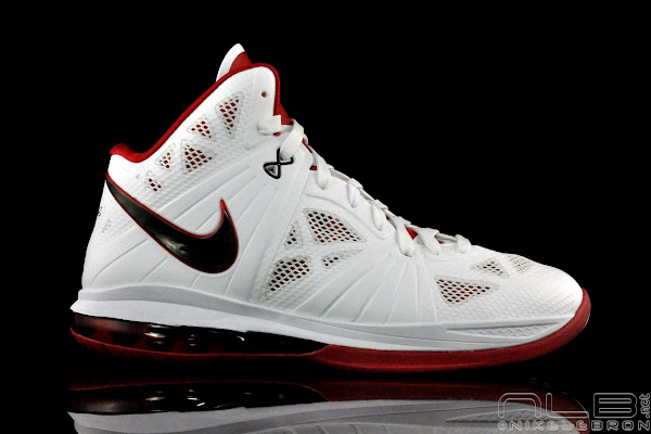 Nike LeBron 8 PS 8220Miami Heat8221 Home Colorway Showcase