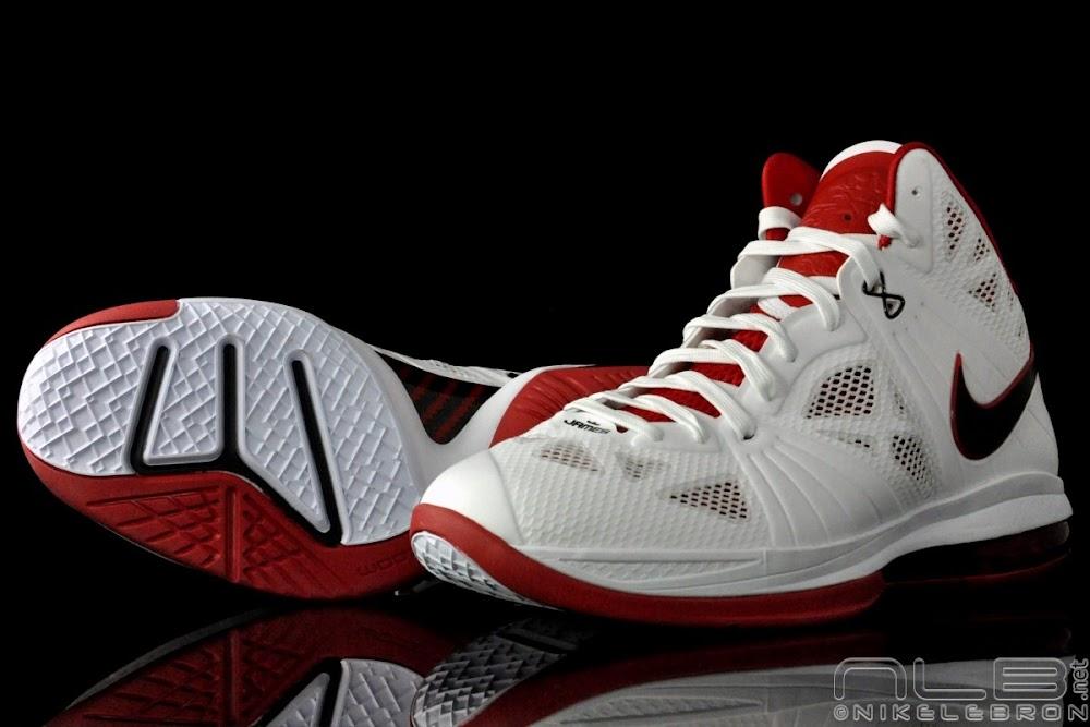 b2d19d5dda3e ... Nike LeBron 8 PS 8220Miami Heat8221 Home Colorway Showcase ...