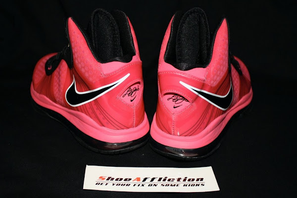 Nike LeBron 8 V2 GS 8211 Black amp Pink 8211 Available at Nikestorecom