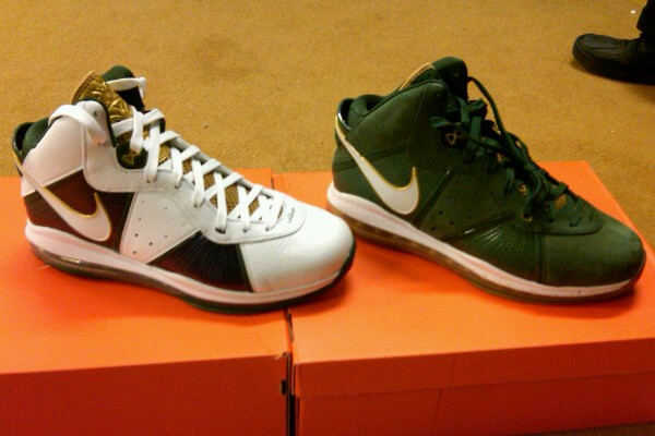 Nike LeBron 8 V1 Still Going Strong SVSM Home and Away PEs