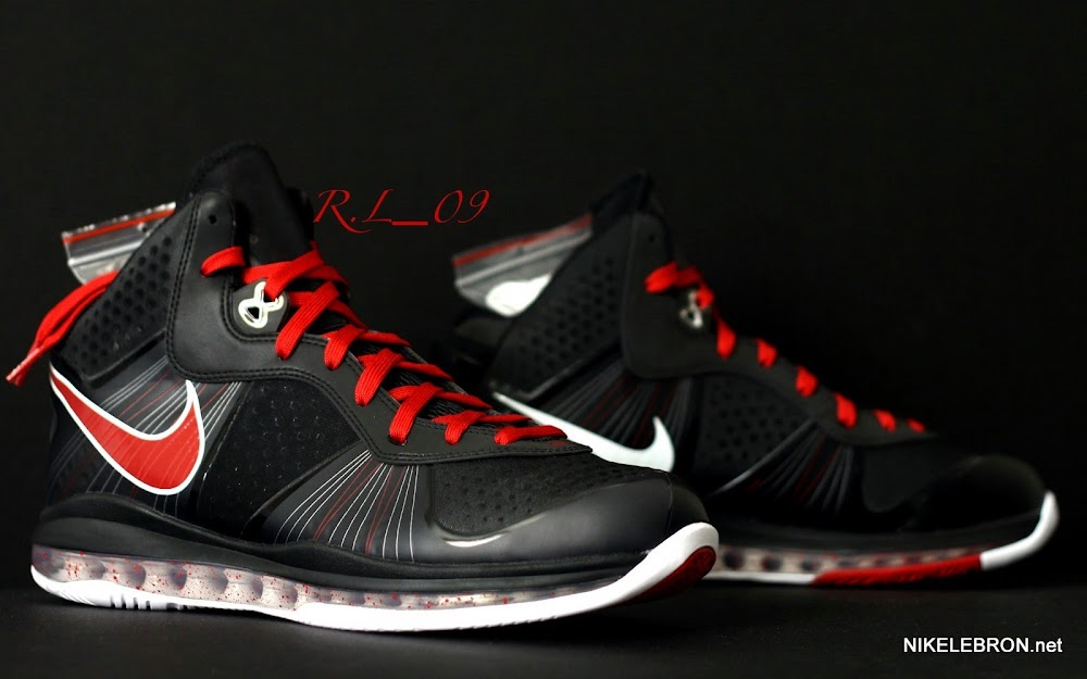 d1ebdd889d41 ... PE Spotlight Nike LeBron 8 V2 8220Portland8221 Special Make Up ...