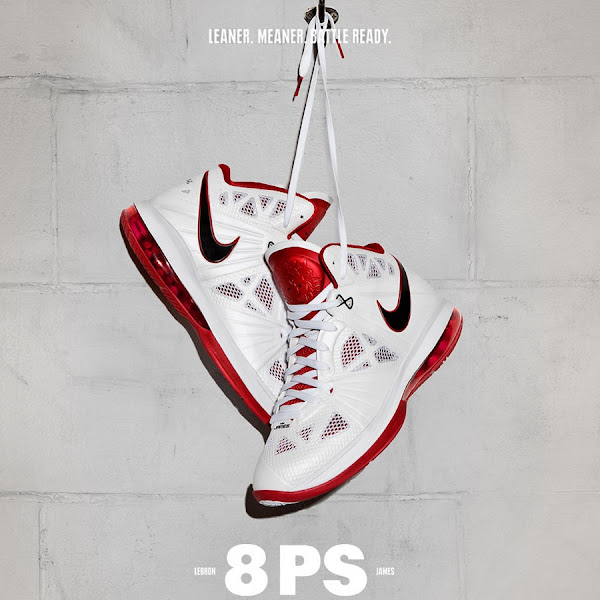 Releasing Now Nike LeBron 8 PS Leaner Meaner Battle Ready