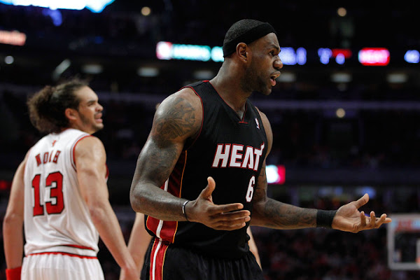 Chicago Bulls Outhustle Miami Heat on Boards Take Game One