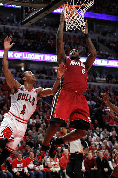 Miami Heat Get Even With the Bulls Behind Strong 4th from LeBron