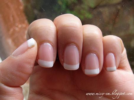 My last 3 week manicure on my Nails Inc loyalty card.
