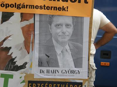 """Hahn """"Nyaldkiaseggem"""" György a Klauzál tér körzetének követe civilkedve"""