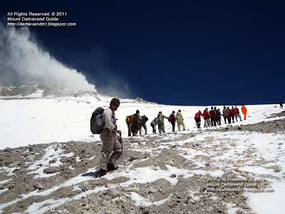 Damavand Volcano Summit