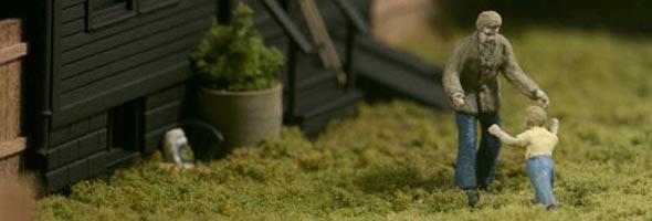 Fantásticos Mini Mundos Esculpidos Em Redomas De Vidro