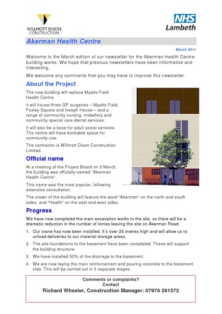 Akerman Health March 2011 newsletter page 1 on Vassall View /></a><br /> <a href=