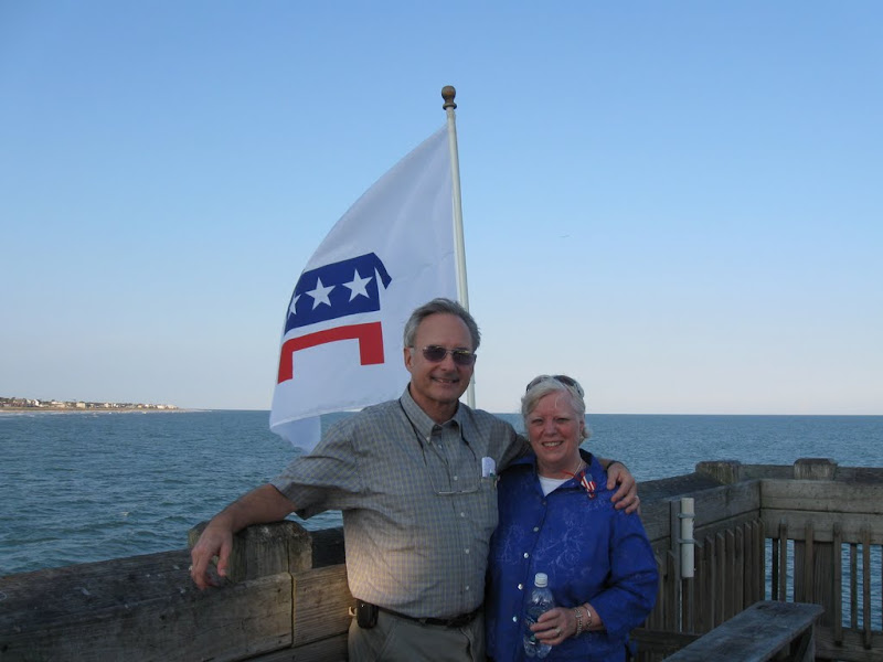 George and Carol Tempel at Folly Pier