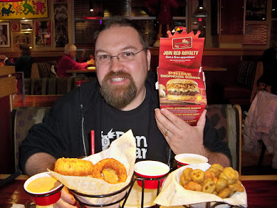 BenSpark at Red Robin with the Prime Chophouse Burger