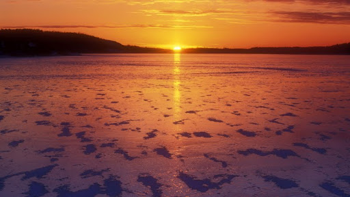 Sunset Over Kelly Lake,  Sudbury, Ontario, Canada.jpg