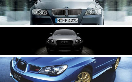 Very Funny Ads By BMW, Audi, Subaru and Bentley