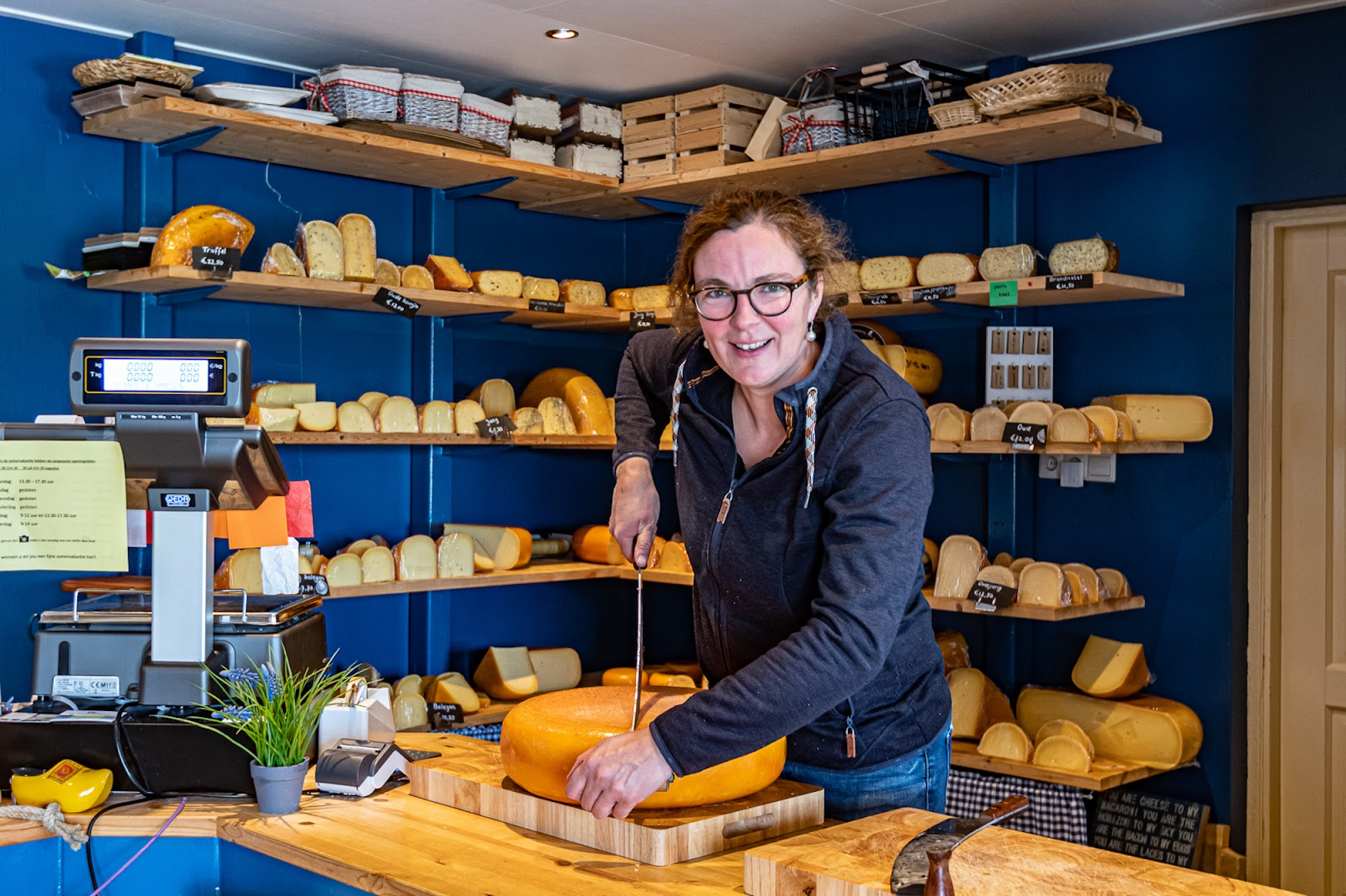 benefits of sharing economy Campspace host's cheese shop