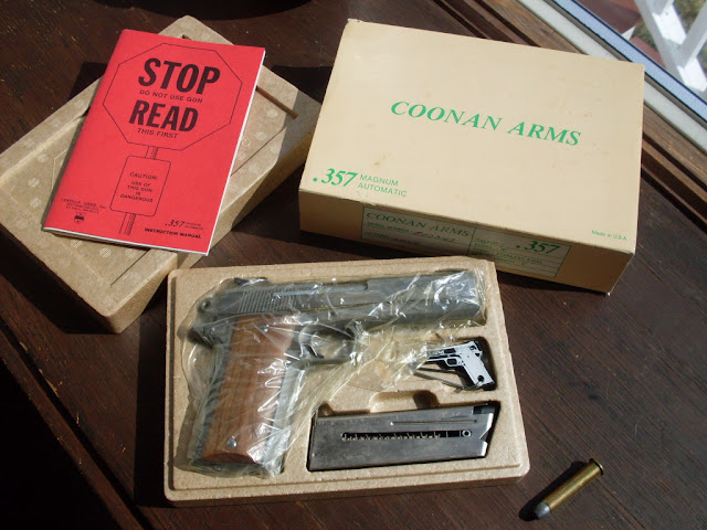Coonan  357 magnum semi's are BACK!! [Archive] - The Firing
