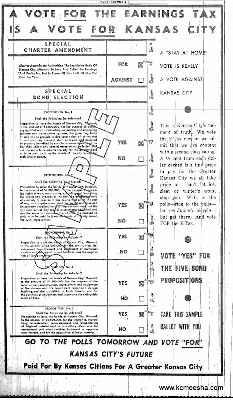 Old Newspapers: Kansas City E Tax