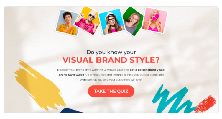 do you know your visual style quiz header