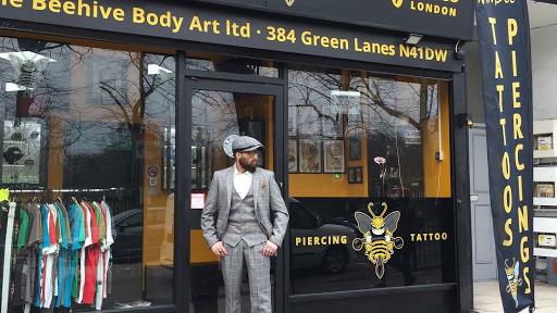 Tattoo Piercing Shop Mr Bee Body Art London Tattoo And