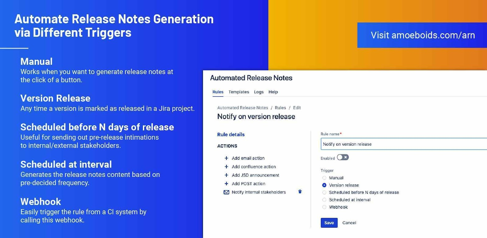 Automated Release Notes for Jira