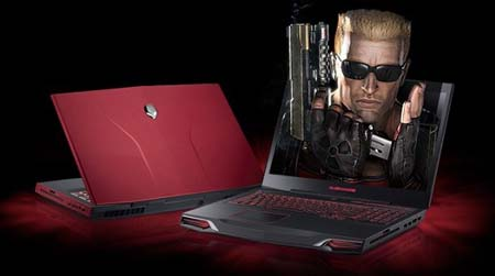 Alienware M17x, Dell 3D Gaming Laptop with Klipsch speakers