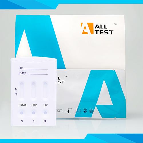 Alltest Biotech HBsAg-HCV-HIV-Syphilis Combo Rapid Test