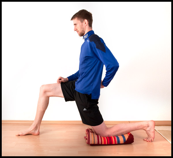 Psoas stretch, Hip flexor stretch