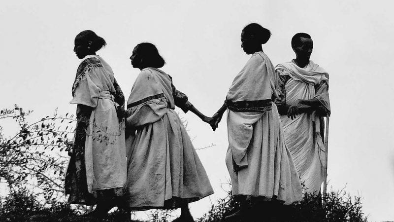 Imagem de mulheres no Tigray.
