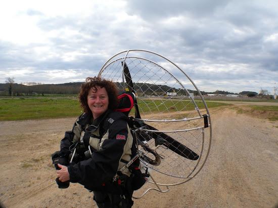karen skinner - record altura paramotor