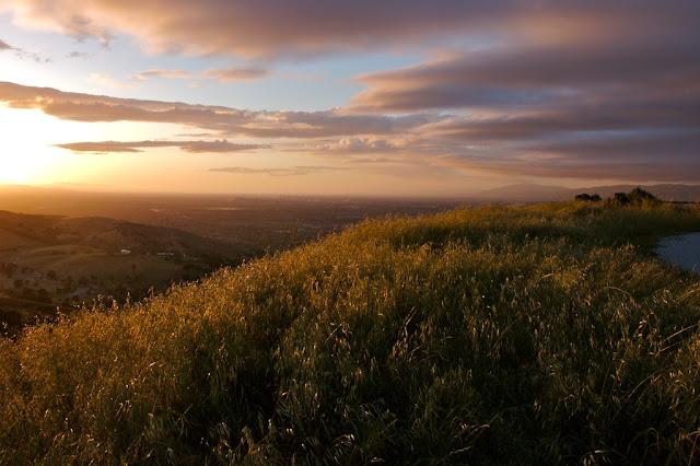 santa clara sunset