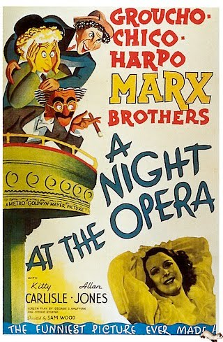 Favorite Movie Series: Justin on The Marx Brothers' A Night at the Opera