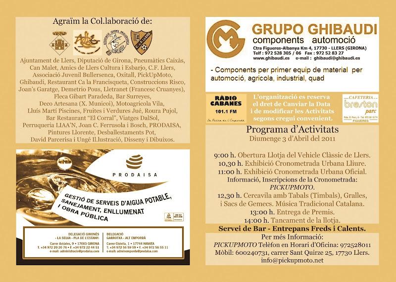 4ª Llotja del Vehicle Clàssic de Llers 3-Abril-2011 Pagines1i2-2011impremta02%20amb%20radio%20cabanes