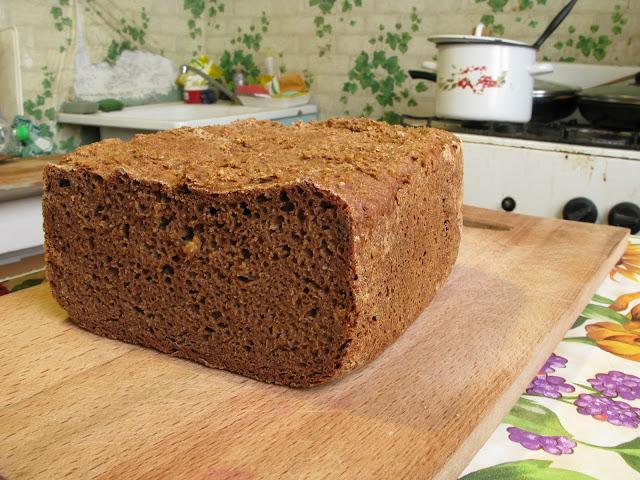 Хлеб только на ржаной муке (по типу вестфальского) (Автор Коша)