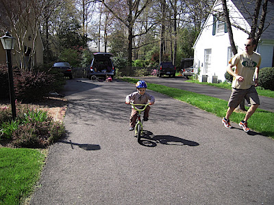 WFMW:  Teaching Your Kids to Ride a Bike
