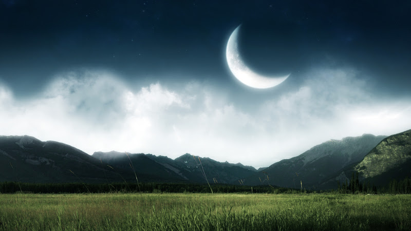 15 Moonlit Nights Wallpaper Collection For Your Desktop
