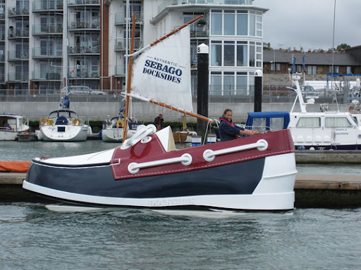 Walk Over Water With Weird Looking Shoe Boat