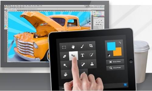 Управление Photoshop с iPad: Adobe Nav